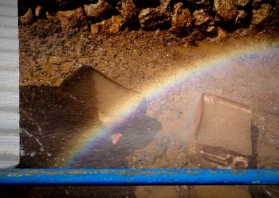 Rainbow In The Mud -- Mindful Photography © Jonny Jelinek - Menorca, 2015